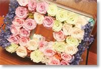 沢山のお花と心温まるお言葉を頂きました